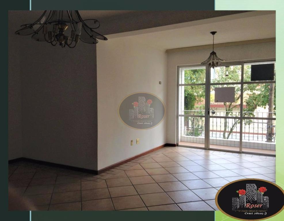 Apartamento com 3 dormitórios à venda, 136 m² por R$ 515.000,00 - Boqueirão - Santos/SP