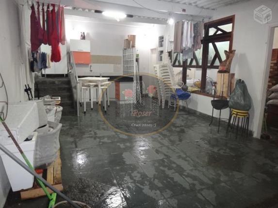 Sobrado para alugar, 100 m² por R$ 4.900,00/mês - Encruzilhada - Santos/SP