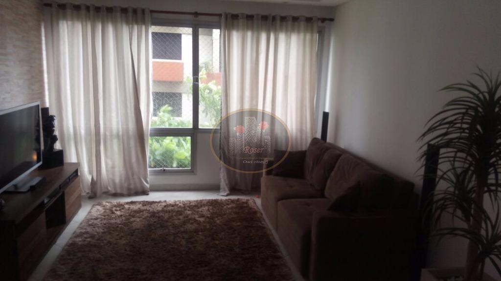 Apartamento à venda, 119 m² por R$ 410.000,00 - Itararé - São Vicente/SP