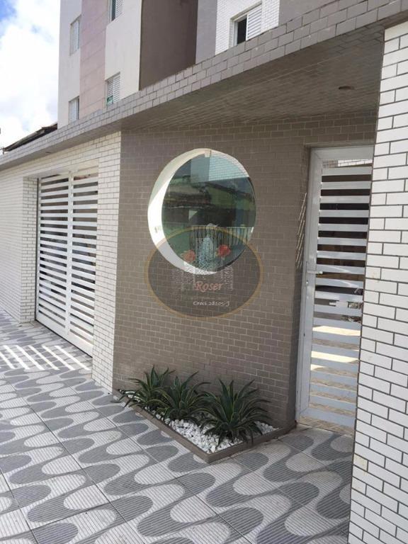 Apartamento Duplex  residencial à venda, Vila Voturua, São Vicente.
