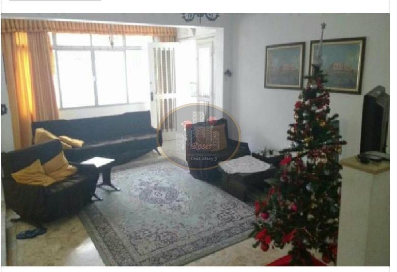 Sobrado com 4 dormitórios à venda, 518 m² por R$ 3.097.800,00 - Aparecida - Santos/SP