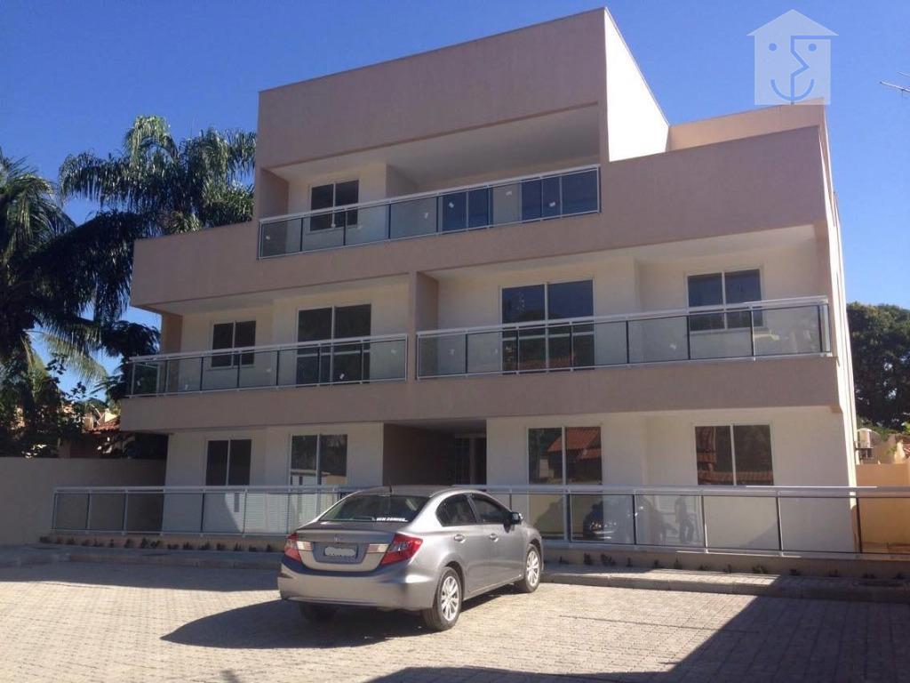 Apartamento  residencial à venda, Centro, Maricá.