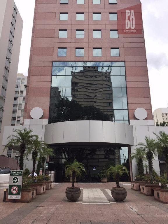 Conjunto comercial para locação na Al. Lorena, Jardim Paulista, São Paulo.
