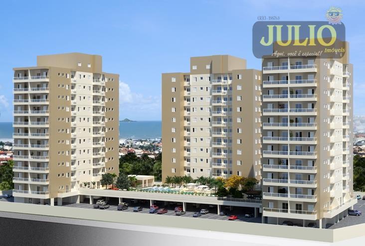 Apartamento residencial à venda, Centro, Itanhaém - AP0468.