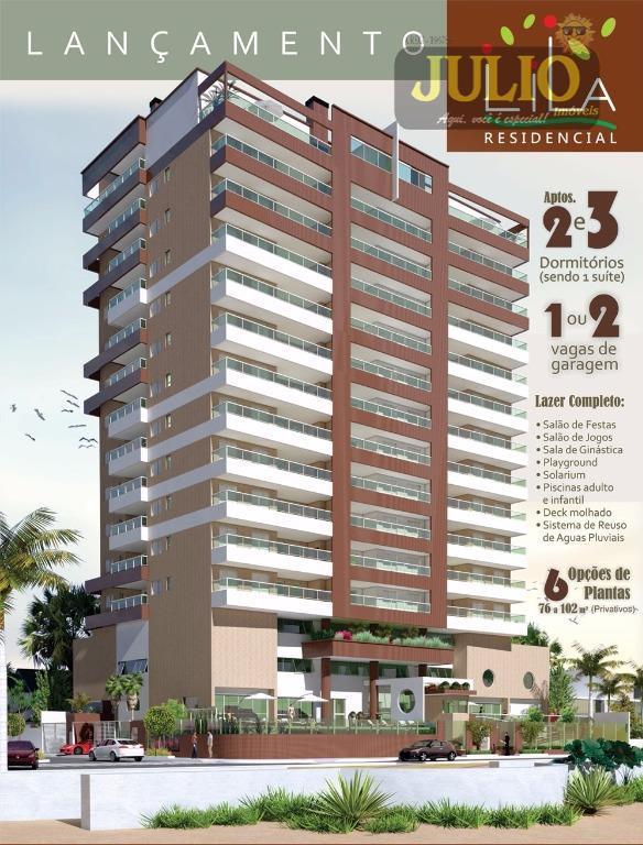 Apartamento residencial à venda, Centro, Mongaguá.