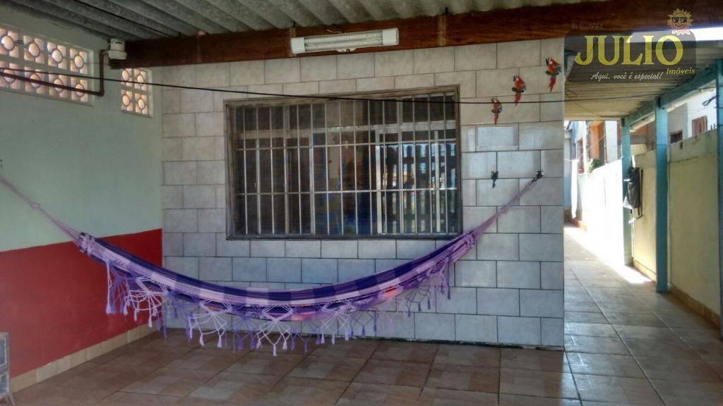 Imóvel: Julio Imóveis - Casa 2 Dorm, Vera Cruz, Mongaguá