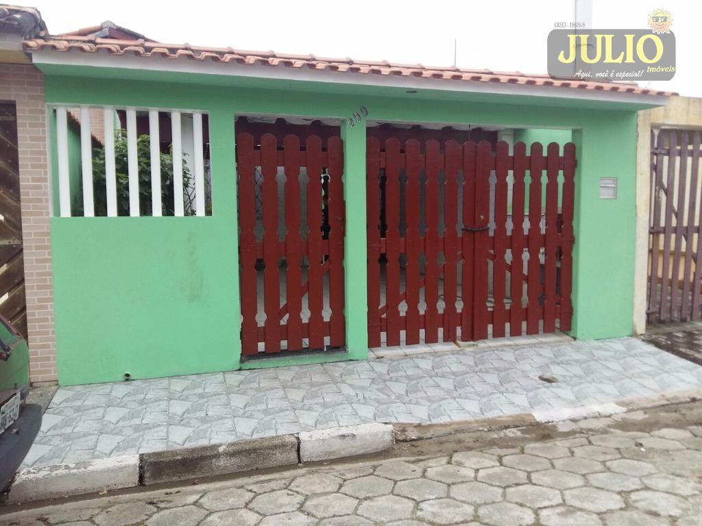 Casa 2 Dorm, Flórida Mirim, Mongaguá (CA2661)