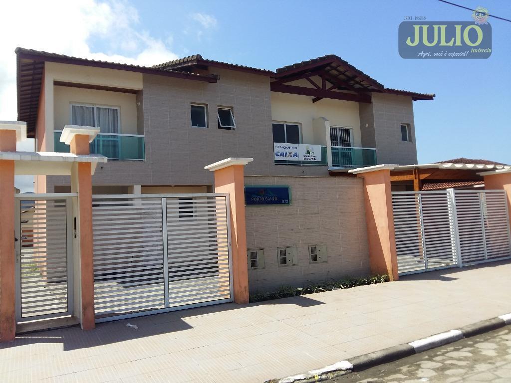 Casa 2 Dorm, Vila Atlântica, Mongaguá (SO0634)