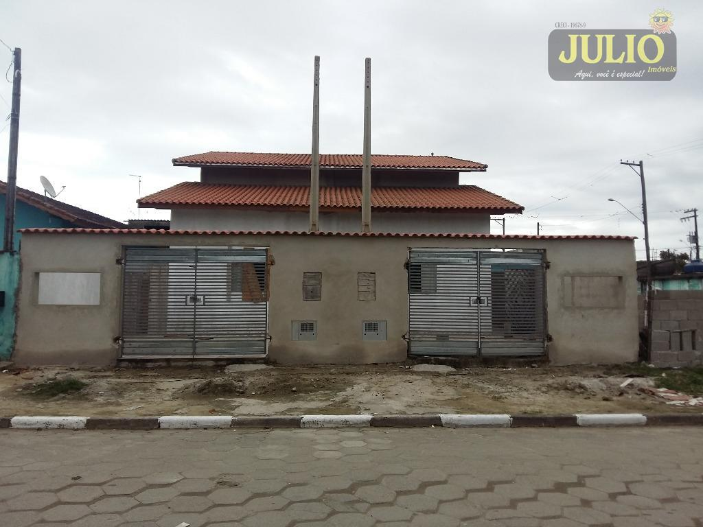 Casa 3 Dorm, Balneário Jussara, Mongaguá (CA2664)
