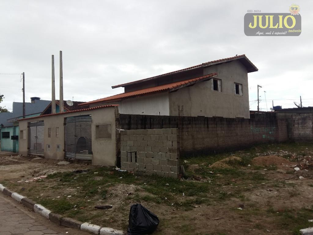 Casa 3 Dorm, Balneário Jussara, Mongaguá (CA2664) - Foto 2