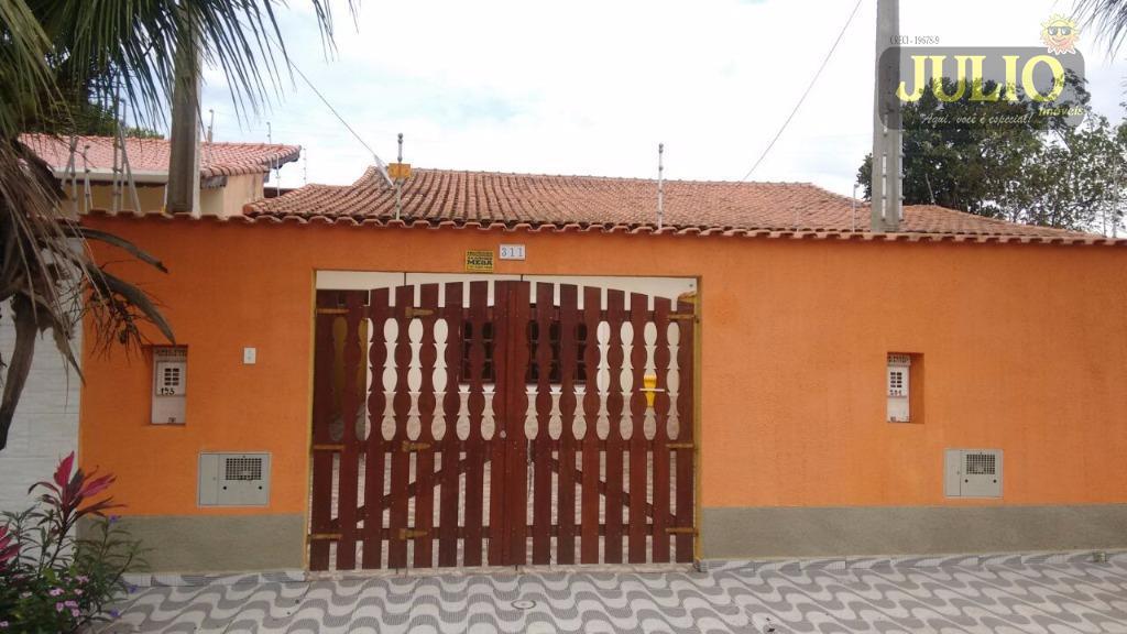 Casa 2 Dorm, Balneário Praiamar, Itanhaém (CA2677)
