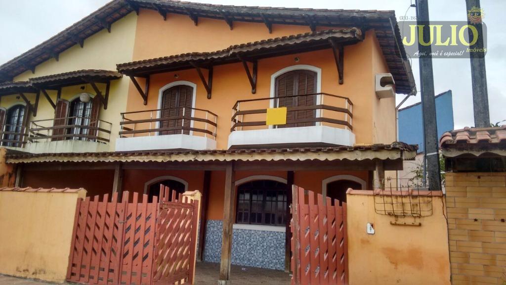 Sobrado residencial à venda, Flórida Mirim, Mongaguá.