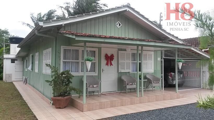 Residência Para Moradia a 200 metros da praia Em Armação Penha -SC