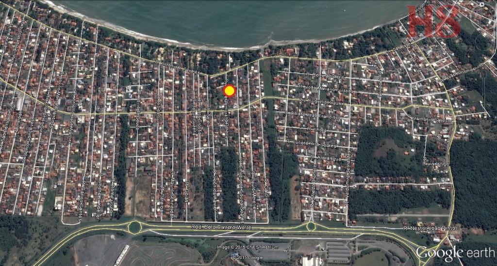 casa de alvenaria, localizada na rua josé domiciano pereira - praia de armação, penha - sc.sendo:...