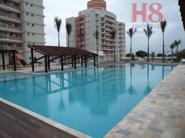 Apartamento com 2 dormitórios à venda, 80 m² por R$ 400.000 - Centro - Penha/SC