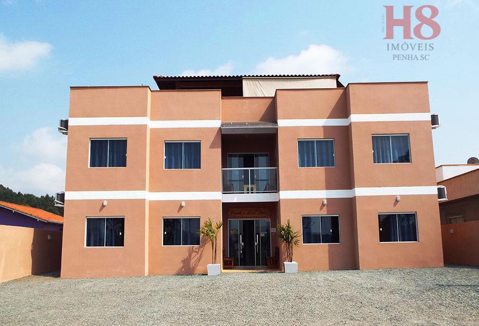Pousada com 8 apartamentos individuais à venda por R$ 650.000 - Nossa Senhora de Fatima - Penha/SC