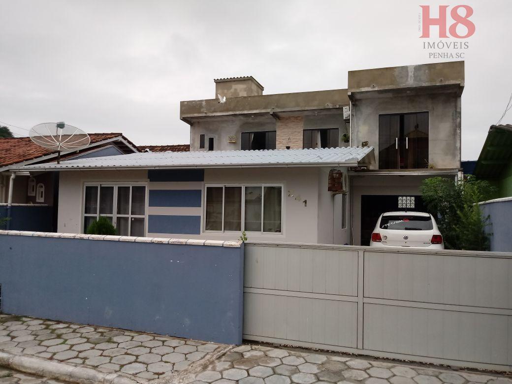 Casa com 5 dormitórios à venda por R$ 480.000 - Gravatá - Penha/SC