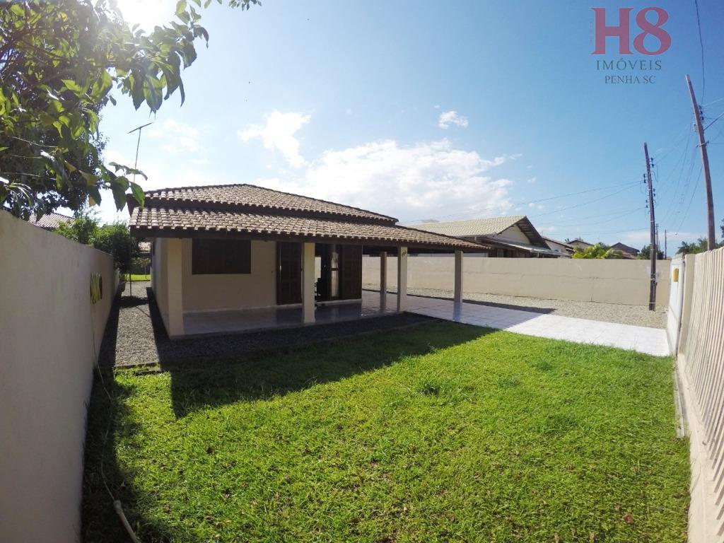 Casa com 3 dormitórios à venda, 150 m² por R$ 480.000 - Armação - Penha/SC