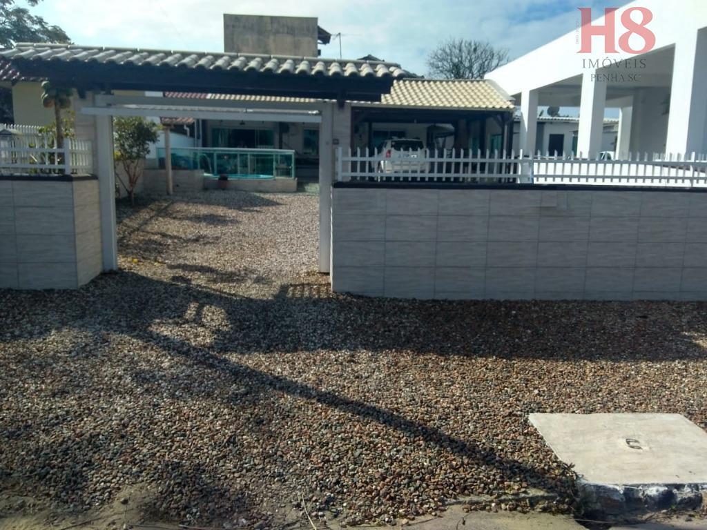 Casa com 3 dormitórios à venda, 100 m² por R$ 424.000 - Praia de Armação - Penha/SC