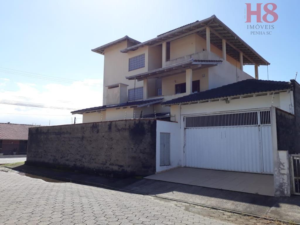 Casa com 6 dormitórios à venda, 500 m² por R$ 850.000 - Praia Alegre - Penha/SC