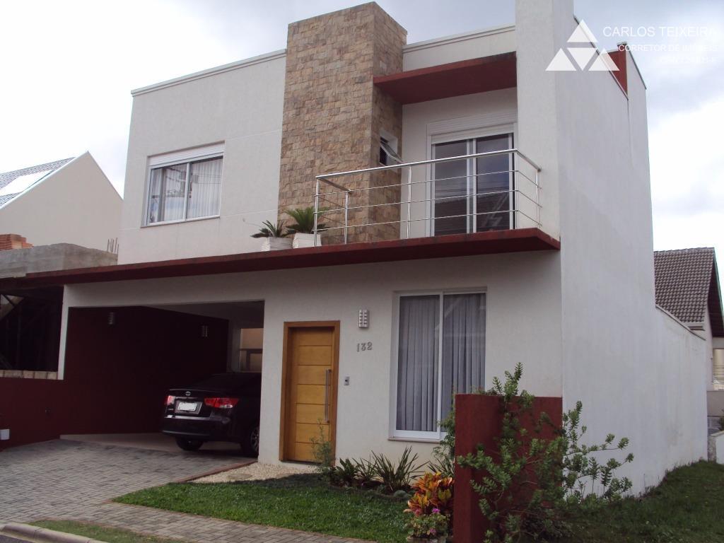 Casa condomínio fechado, 4 quartos, Fazendinha, Curitiba.