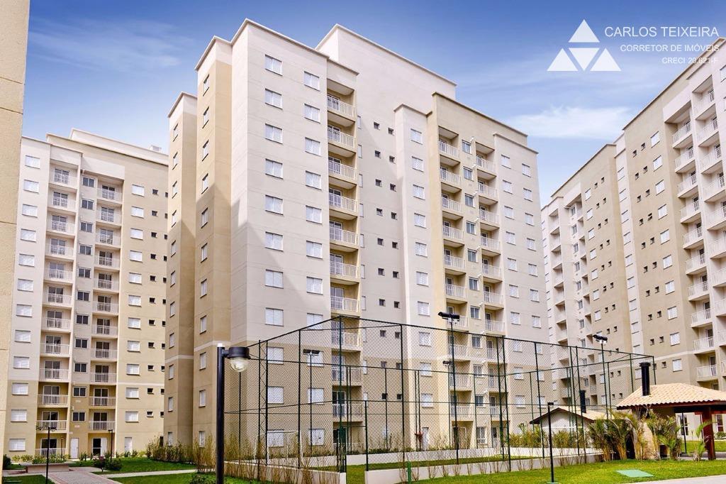 Apartamento 3 quartos (1 suíte), 1 vaga, à venda, Atuba, Curitiba.
