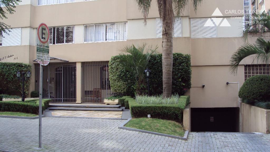 Apartamento  2 quartos (1 suíte), Bigorrilho, Curitiba.