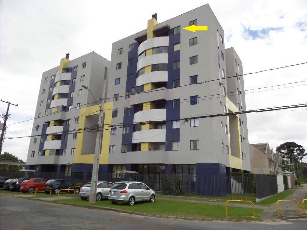 Apartamento residencial para locação, 3 quartos (1 suíte), bairro Novo Mundo, Curitiba.