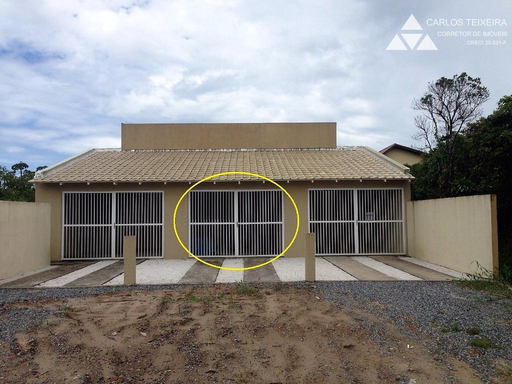 Casa na praia, Bal. Eliana, com 2 quartos, em Guaratuba.
