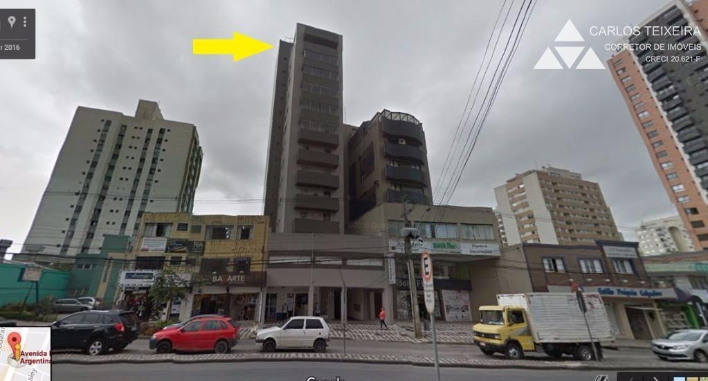 Cobertura residencial à venda, 2 quartos, Água Verde, Curitiba.