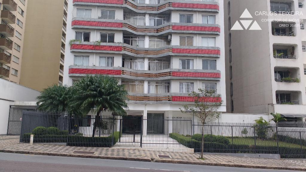 Apartamento para locação, 3 quartos, Bigorrilho, Curitiba.