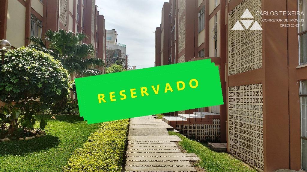 Apartamento para locação, 2 quartos, Resid. Mato Grosso, Água Verde, Curitiba.