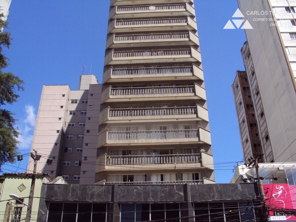 Apartamento à venda, 4 quartos, 2 vagas, Edif. Sobral, no Juvevê, Curitiba.