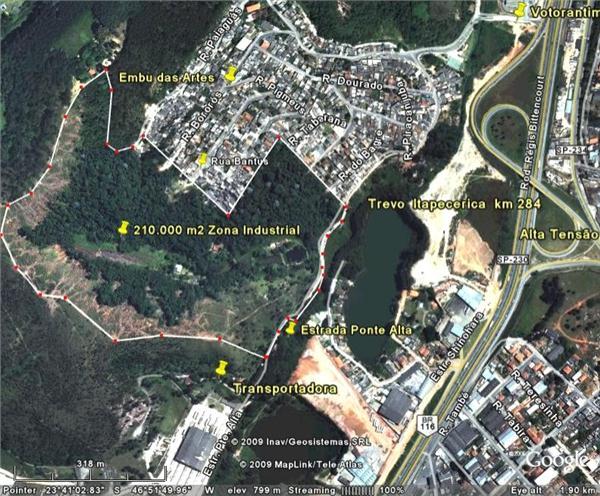 Área em Ressaca, Itapecerica Da Serra - SP