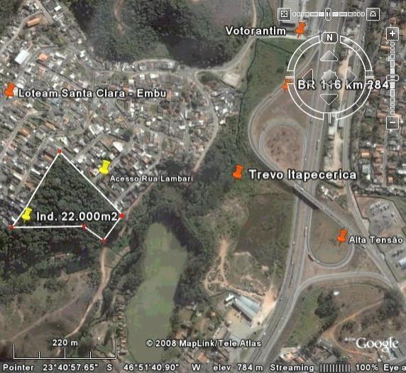 Área em Jardim Santa Clara, Embu Das Artes - SP