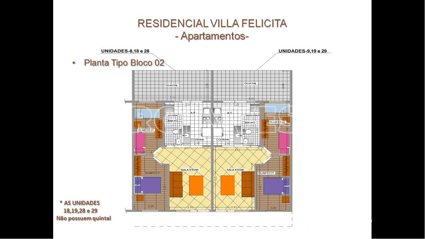Apartamento de 2 dormitórios à venda em Outeiro De Passárgada, Cotia - SP