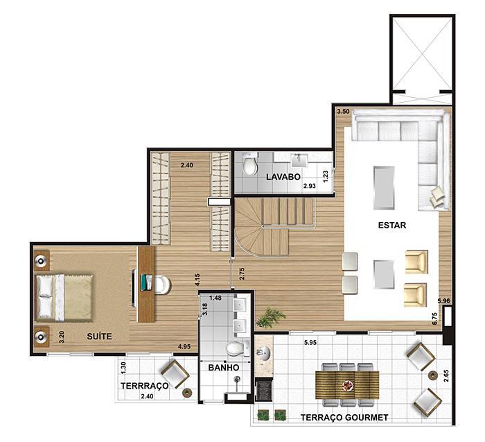 Apartamento de 5 dormitórios em Butantã, São Paulo - SP