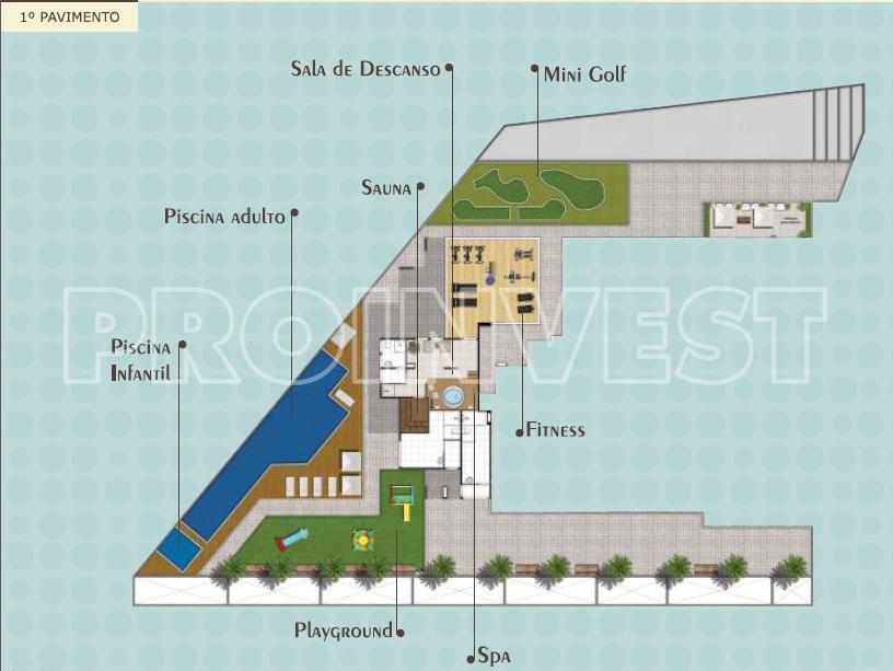 Apartamento de 1 dormitório em Empresarial 18 Do Forte, Barueri - SP