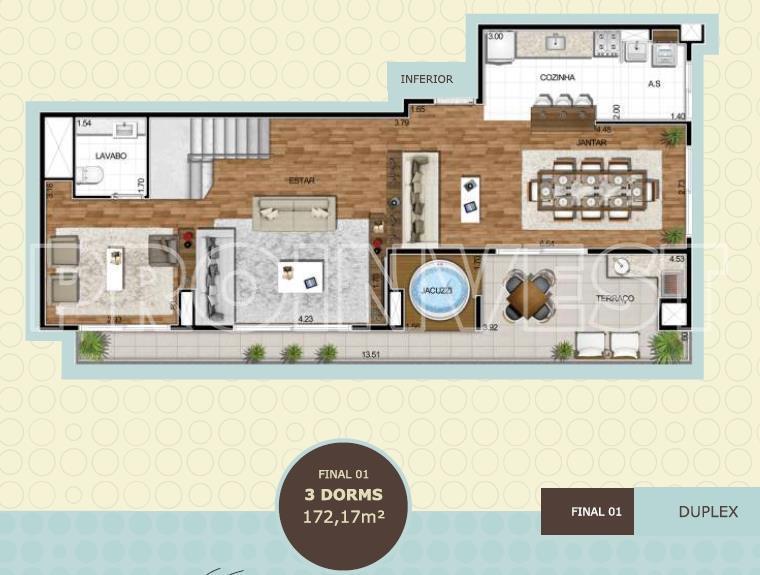 Apartamento de 3 dormitórios em Empresarial 18 Do Forte, Barueri - SP