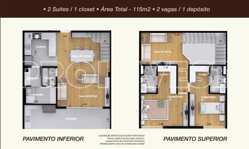 Apartamento de 2 dormitórios em Residencial Costa Do Marfim, Cotia - SP