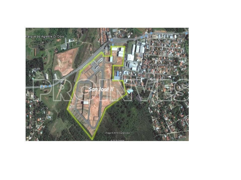 Área à venda em Parque Industrial San José Ii, Vargem Grande Paulista - SP