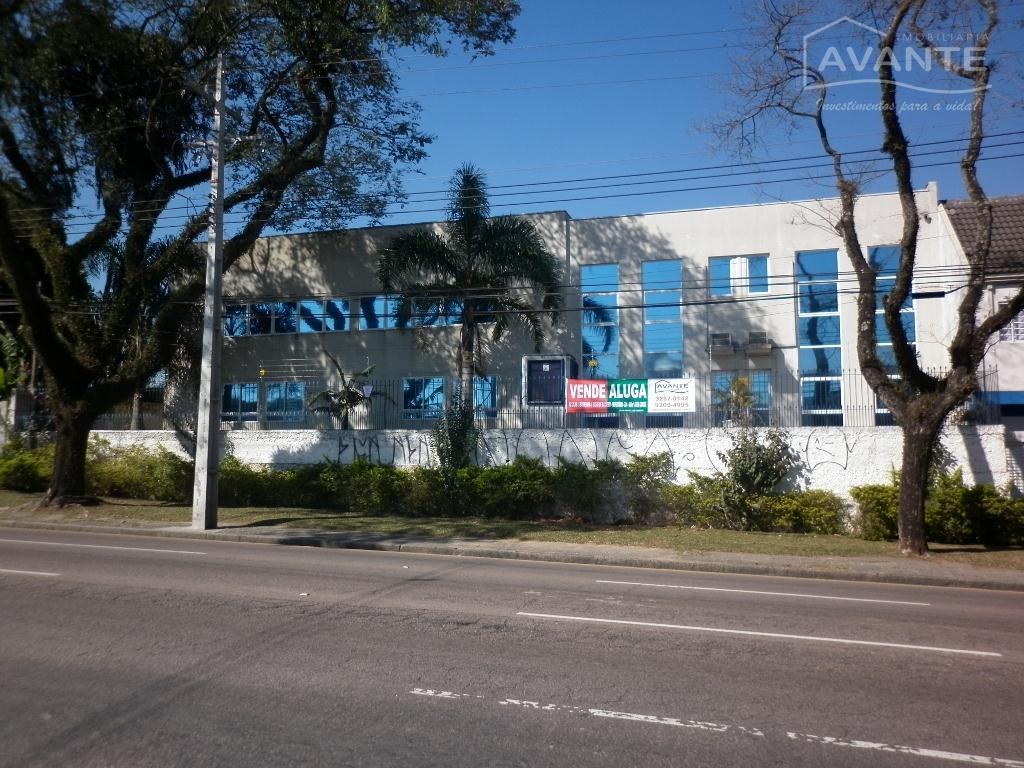 Prédio comercial para venda e locação, ótimo para Clínicas e Call Center no Capão Raso, Curitiba - PR0001.