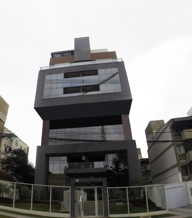 Excelente Apartamento Novo 1º andar, no Bairro Champagnat, Curitiba.