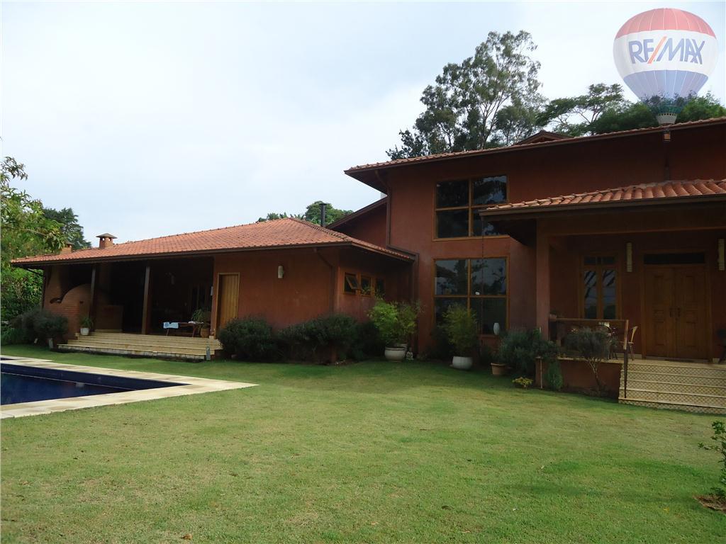 Casa residencial para venda e locação, Condomínio Santa Fé, Vinhedo - CA2185.