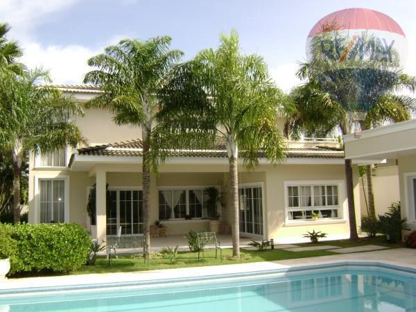 Casa residencial para venda e locação, Condomínio Marambaia, Vinhedo - CA2320.