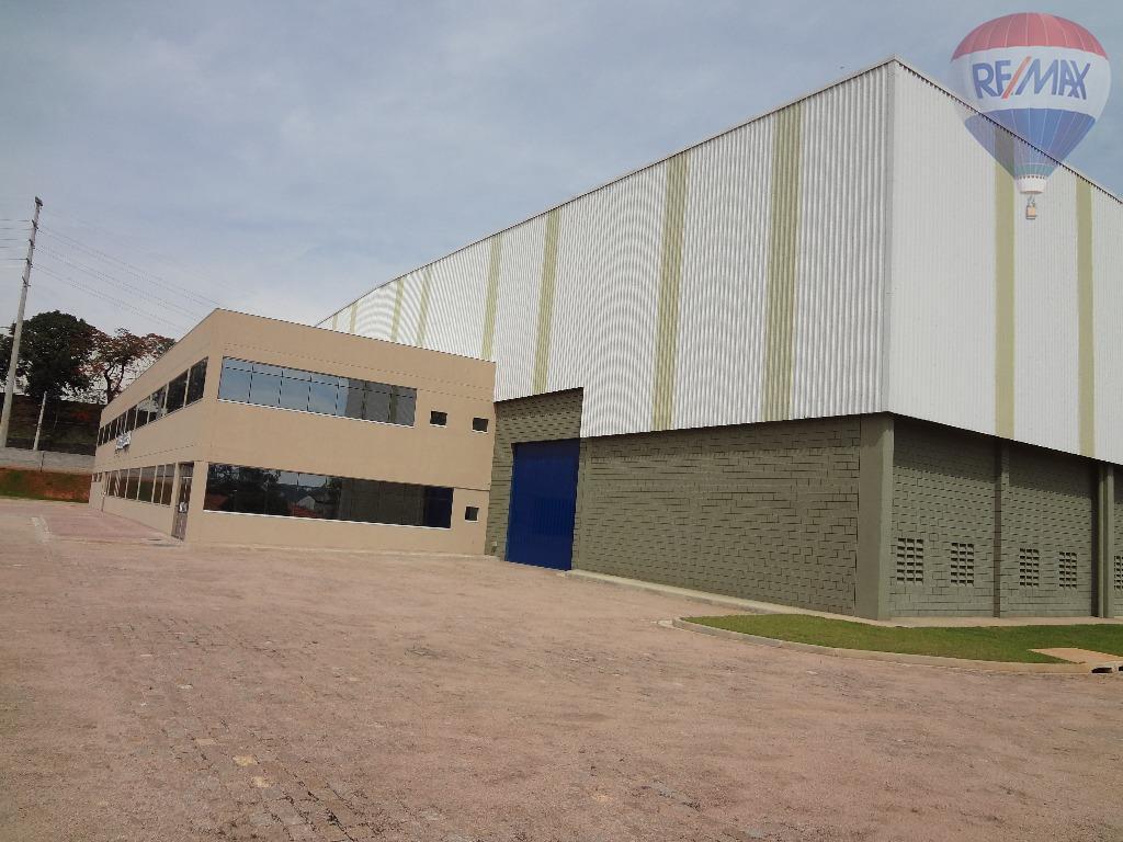 Galpão industrial para locação, Medeiros, Jundiaí.