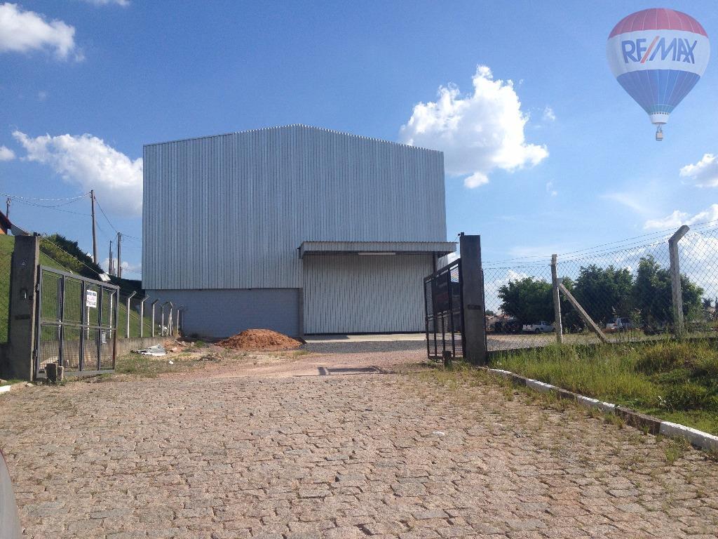 Galpão industrial para locação, Capivari, Louveira - GA0356.