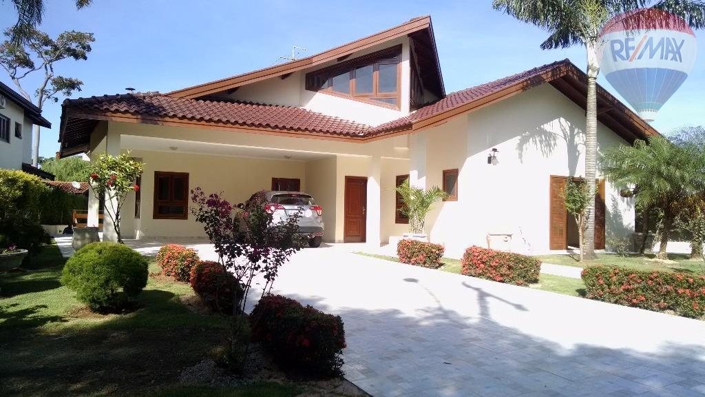 Casa  residencial para locação, Condomínio Chácara Flora, Valinhos.