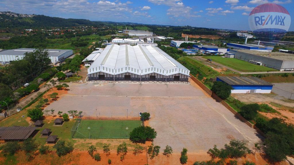 Galpão industrial para locação, Distrito Industrial, Vinhedo - GA0333.