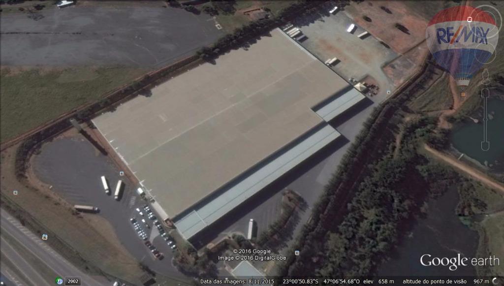 Galpão industrial para locação, Região do Aeroporto de Viracopos, Campinas - GA0369.
